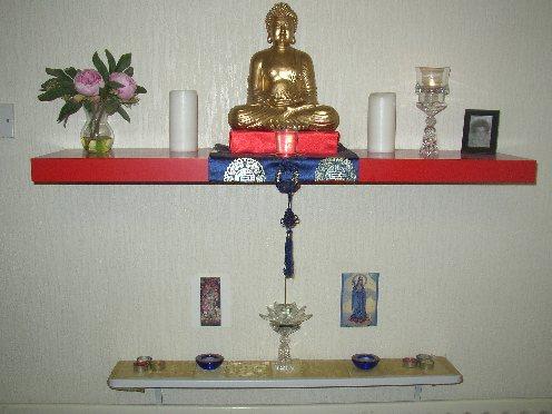 Martin Jordin home altar